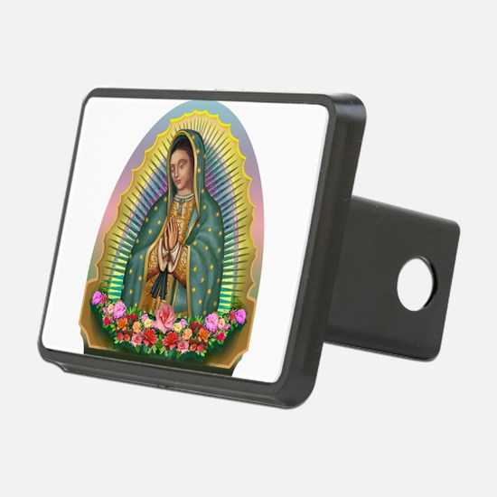 Guadalupe Yellow Aura Hitch Cover
