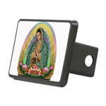 Guadalupe Yellow Aura Rectangular Hitch Cover