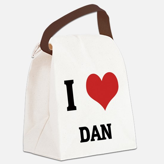 DAN Canvas Lunch Bag