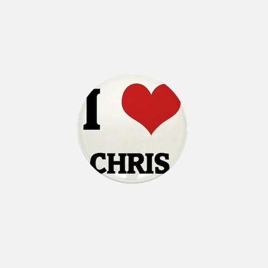 CHRIS Mini Button