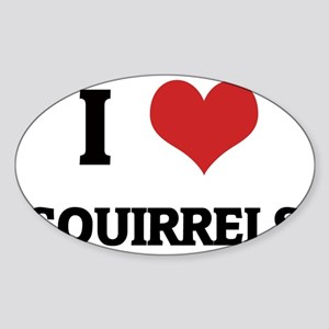 SQUIRRELS Sticker (Oval)