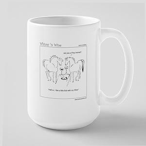 WhinnynWine Horse Cartoon- Lusitano Bull Mug