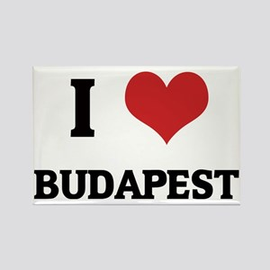 BUDAPEST Rectangle Magnet