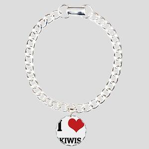 KIWIS Charm Bracelet, One Charm