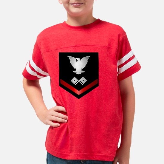 navy_e4_signalman Youth Football Shirt