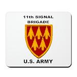 11TH SIGNAL BRIGADE Mousepad