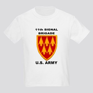 11TH SIGNAL BRIGADE Kids T-Shirt