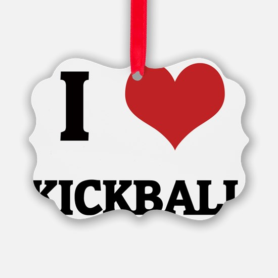 KICKBALL Ornament