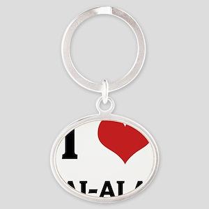 JAI-ALAI Oval Keychain