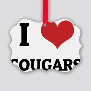COUGARS Picture Ornament