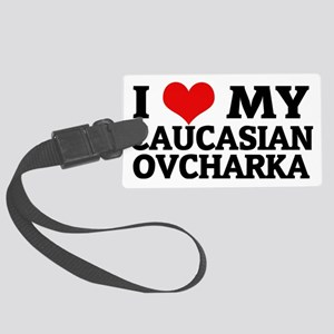 CAUCASIAN OVCHARKA Large Luggage Tag