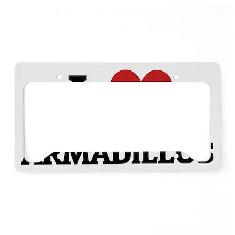 ARMADILLOS License Plate Holder