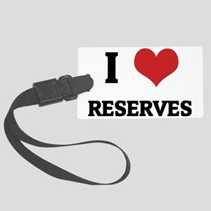 RESERVES Large Luggage Tag