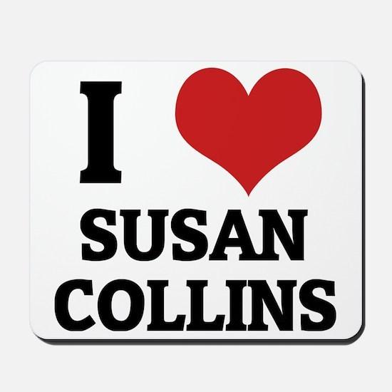 SUSAN COLLINS Mousepad