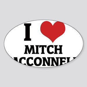 MITCH MCCONNELL Sticker (Oval)