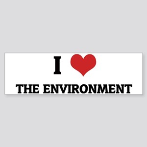 THE ENVIRONMENT Sticker (Bumper)