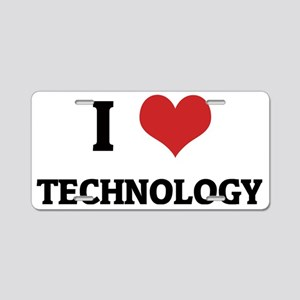 TECHNOLOGY1 Aluminum License Plate
