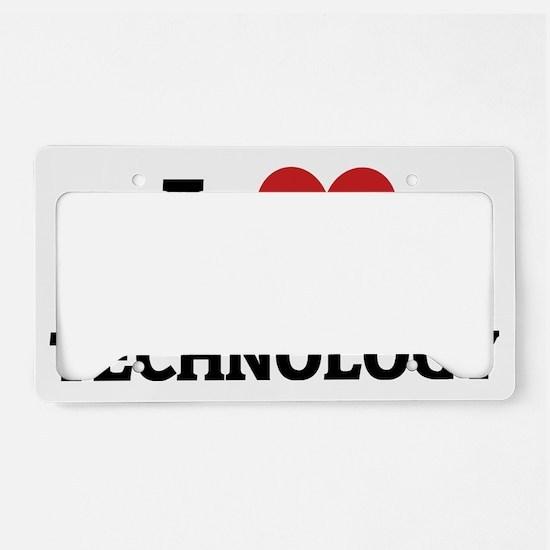 TECHNOLOGY1 License Plate Holder
