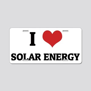 SOLAR ENERGY Aluminum License Plate