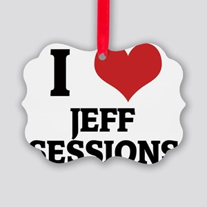 JEFF SESSIONS Picture Ornament
