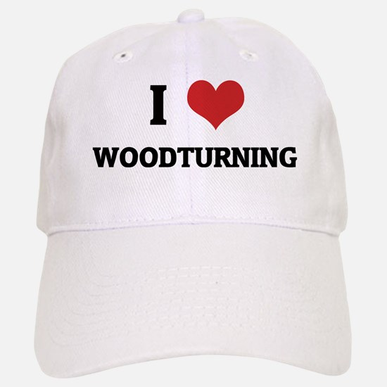 WOODTURNING Baseball Baseball Cap