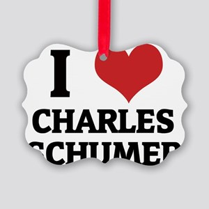 CHARLES SCHUMER Picture Ornament