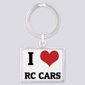 RC CARS Landscape Keychain