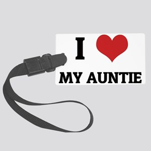 MY AUNTIE Large Luggage Tag