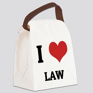 LAW Canvas Lunch Bag
