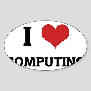 COMPUTING Sticker (Oval)