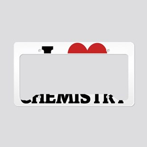 CHEMISTRY License Plate Holder