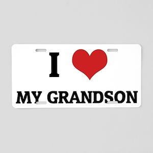 MY GRANDSON Aluminum License Plate
