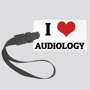 AUDIOLOGY Large Luggage Tag