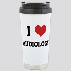 AUDIOLOGY Stainless Steel Travel Mug