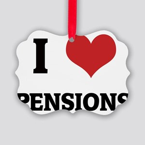 PENSIONS Picture Ornament