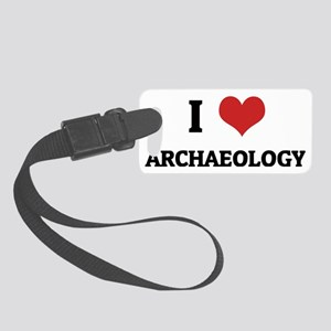 ARCHAEOLOGY Small Luggage Tag
