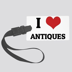 ANTIQUES Large Luggage Tag