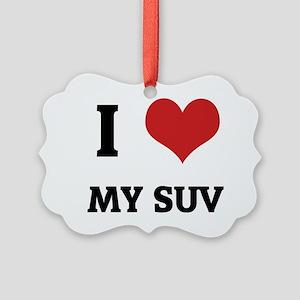MY SUV Picture Ornament