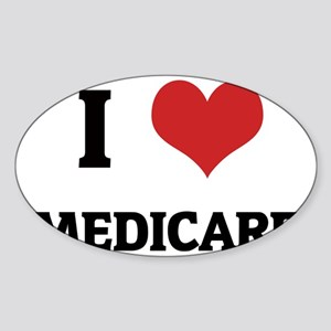 MEDICARE Sticker (Oval)