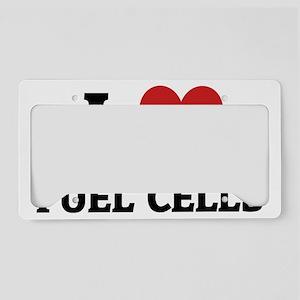 FUEL CELLS License Plate Holder