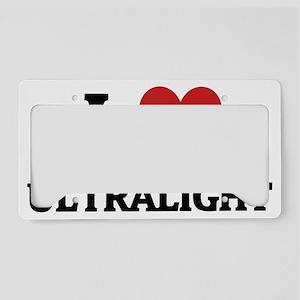 ULTRALIGHT License Plate Holder