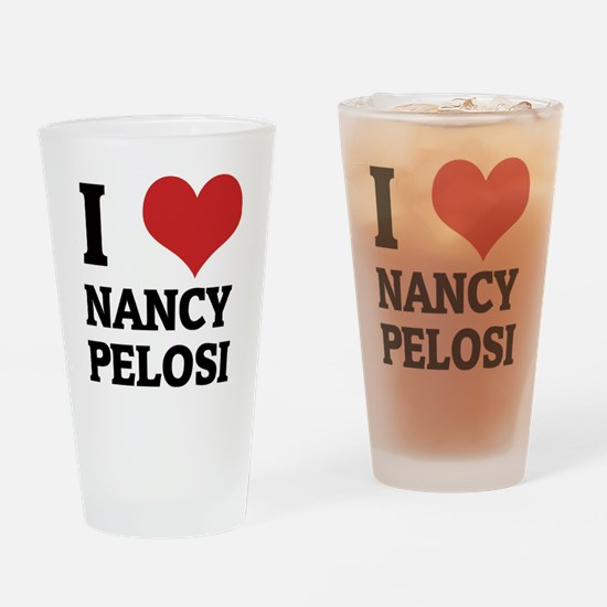 NANCY PELOSI Drinking Glass