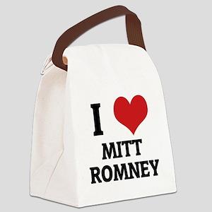 MITT ROMNEY1 Canvas Lunch Bag