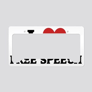 FREE SPEECH License Plate Holder