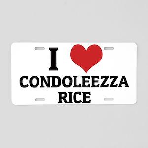CONDOLEEZZA RICE Aluminum License Plate