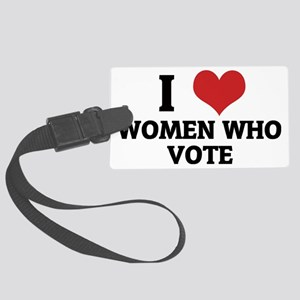 WOMEN WHO VOTE Large Luggage Tag