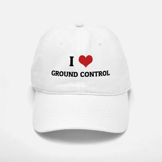 GROUND CONTROL Baseball Baseball Cap