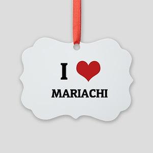 MARIACHI Picture Ornament