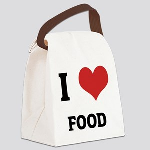 FOOD Canvas Lunch Bag