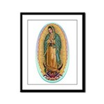 Virgin Guadalupe Framed Panel Print